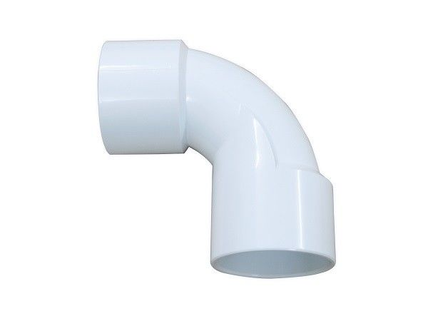 Regular PVC Elbow Fittings For Gas And Sewage System , Pvc Pipe 90 Degree Elbow