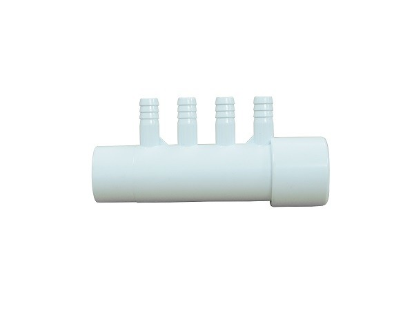 4 - Port Air Distributor Plastic Water Manifold System In Jacuzzi Massage Tub